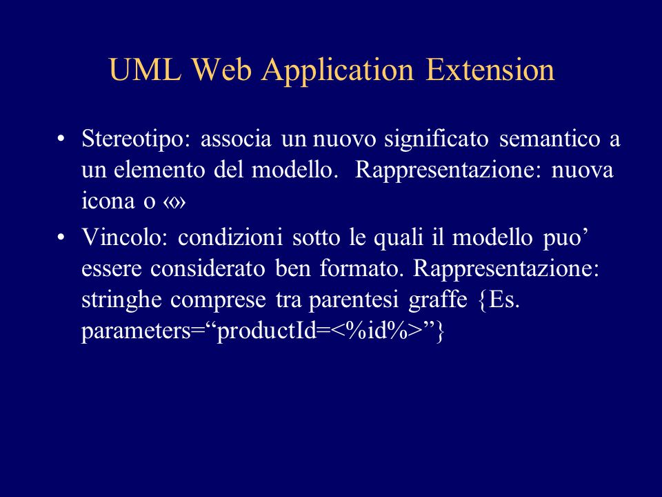 UML Web Application Extension