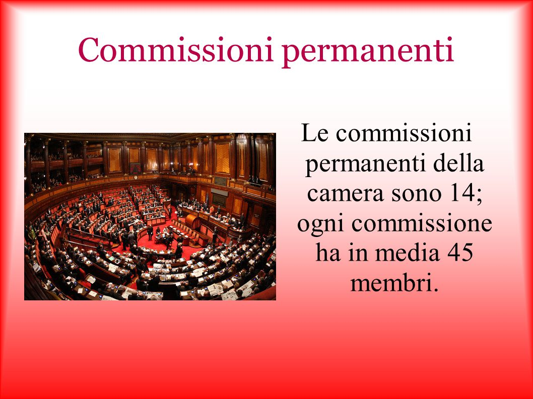 Commissioni permanenti