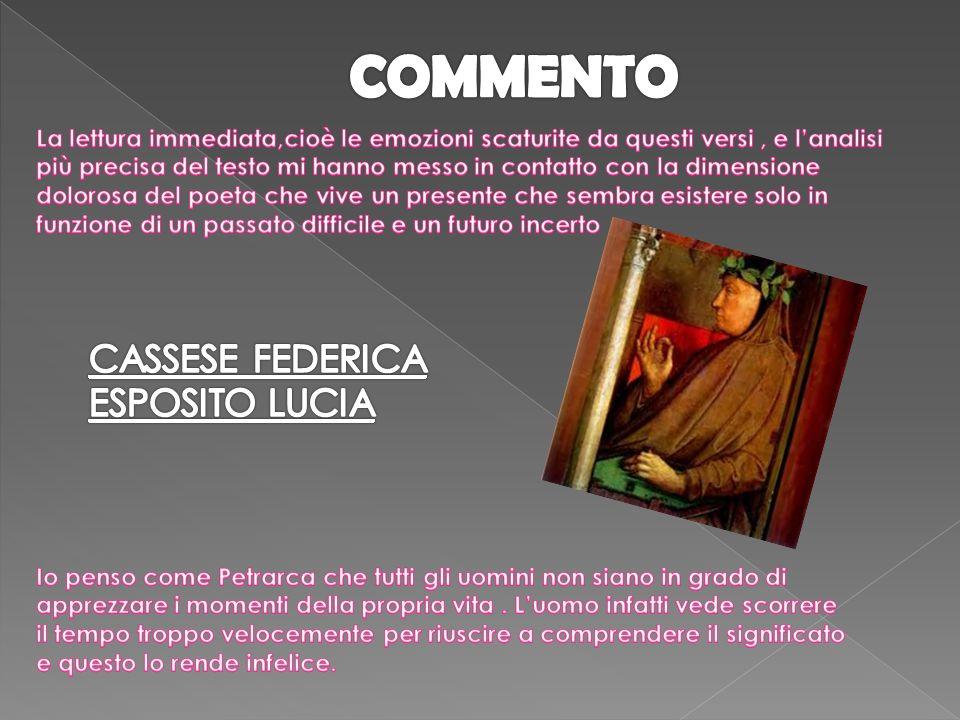 COMMENTO CASSESE FEDERICA ESPOSITO LUCIA