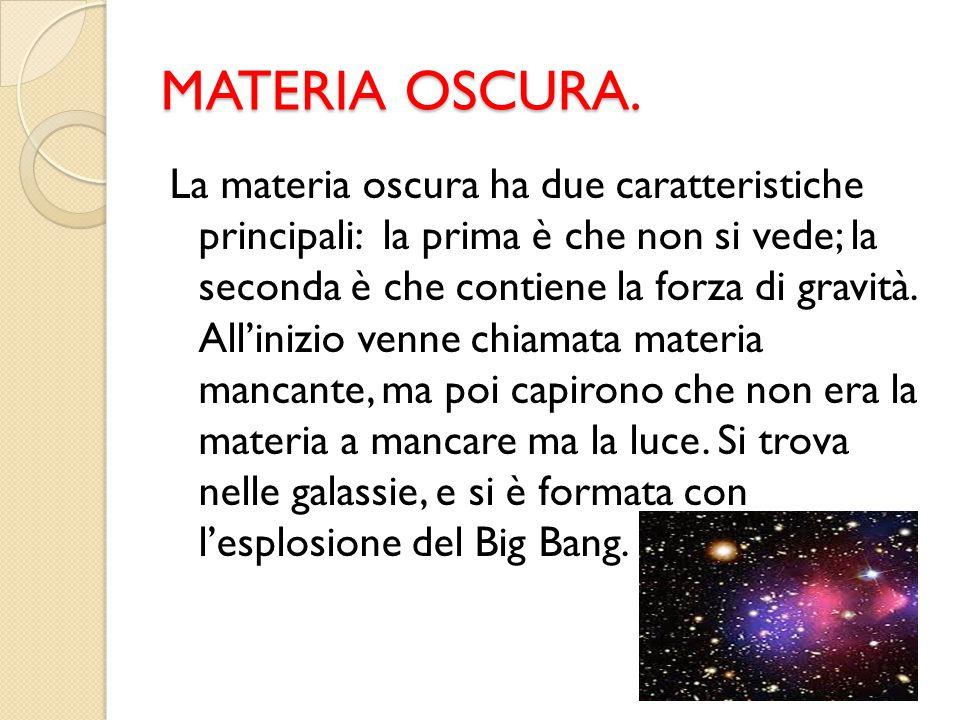 MATERIA OSCURA.