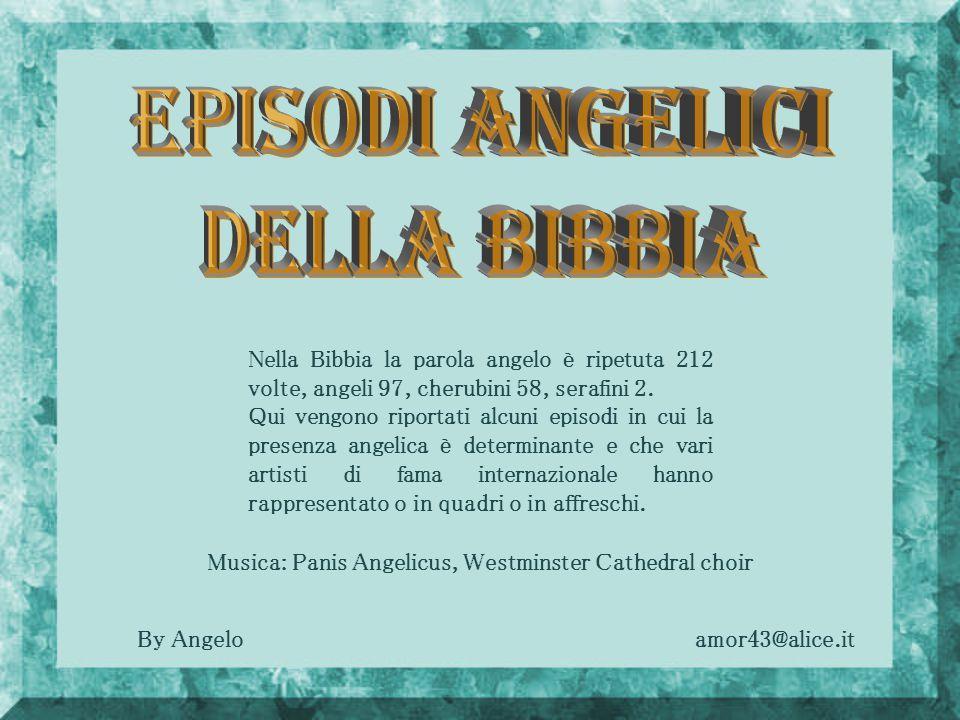 Episodi Angelici della Bibbia