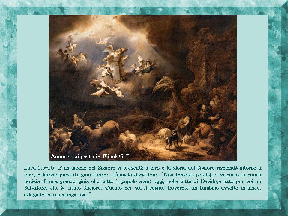 Annuncio ai pastori – Flinck G.T.