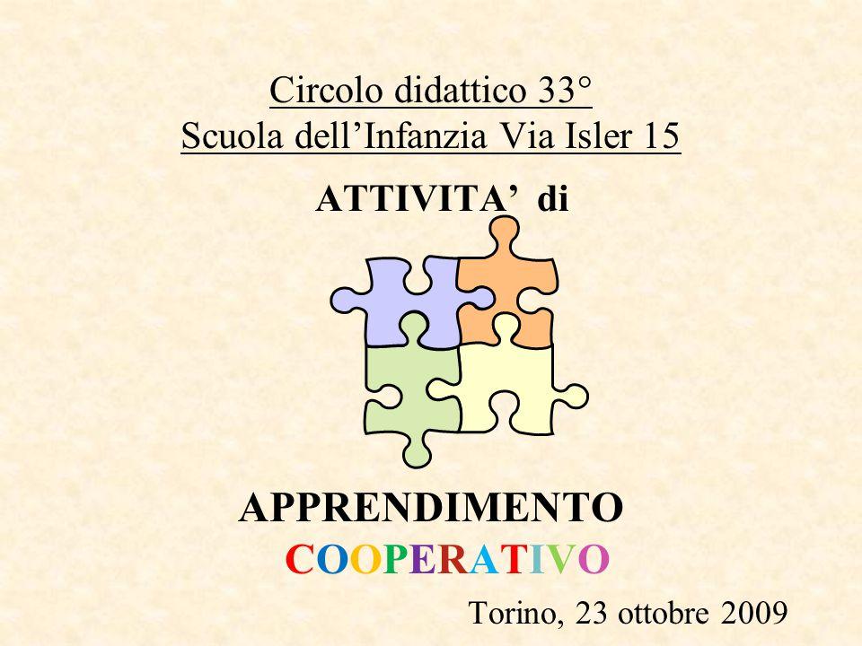 Circolo didattico 33° Scuola dell'Infanzia Via Isler 15