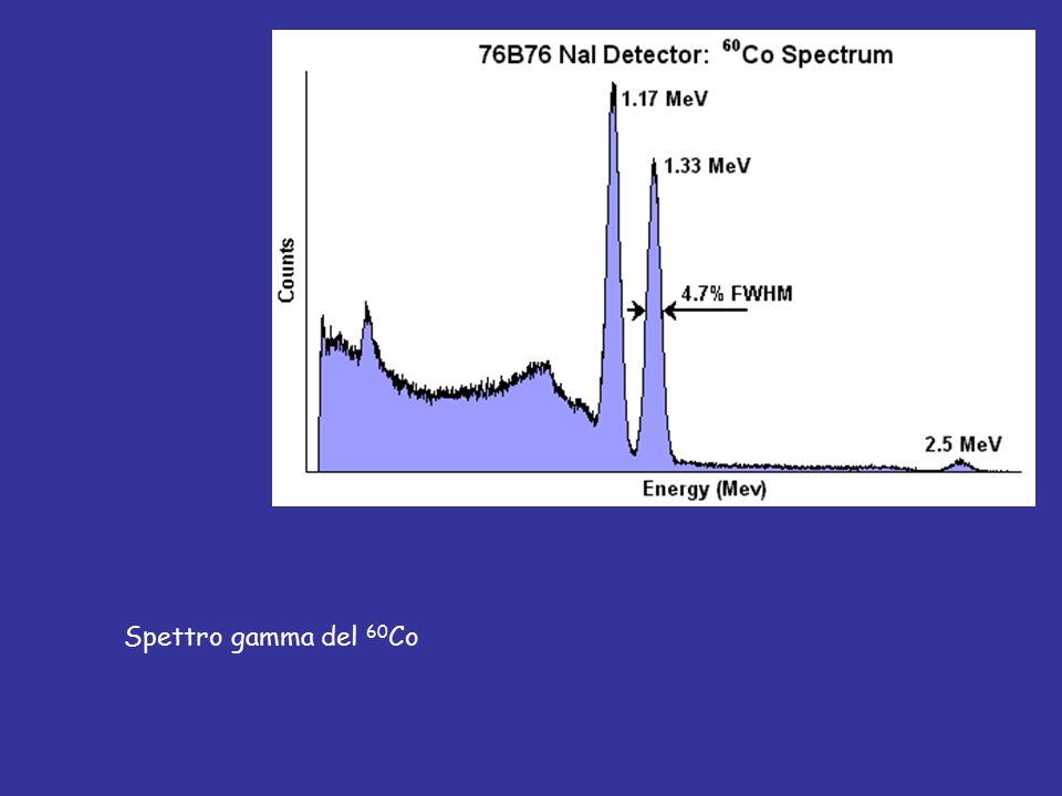 Spettro gamma del 60Co