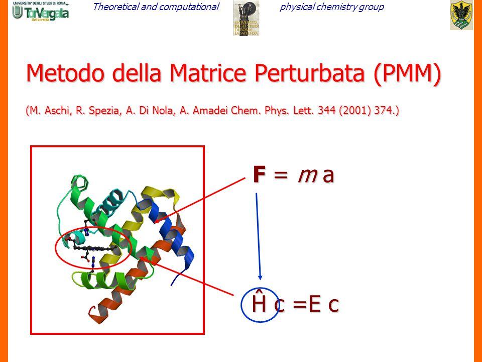 Metodo della Matrice Perturbata (PMM) (M. Aschi, R. Spezia, A