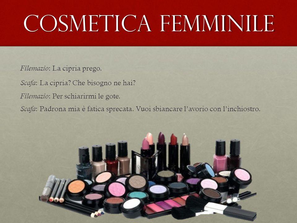 Cosmetica femminile