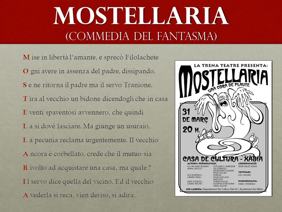 Mostellaria (Commedia del fantasma)