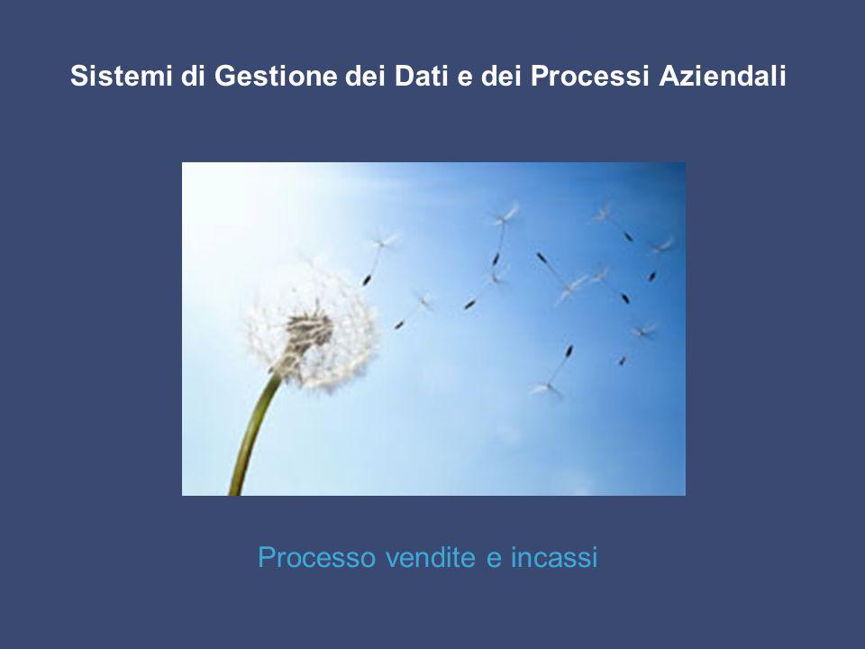Sistemi di Gestione dei Dati e dei Processi Aziendali