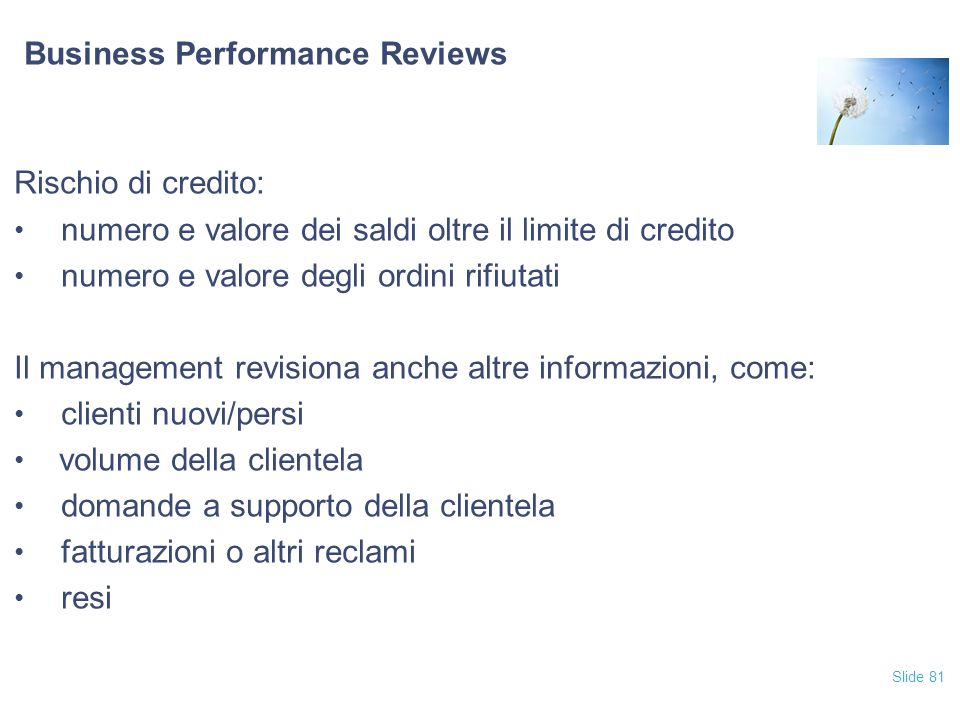 Business Performance Reviews