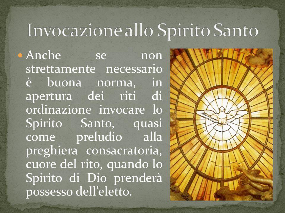 Invocazione allo Spirito Santo