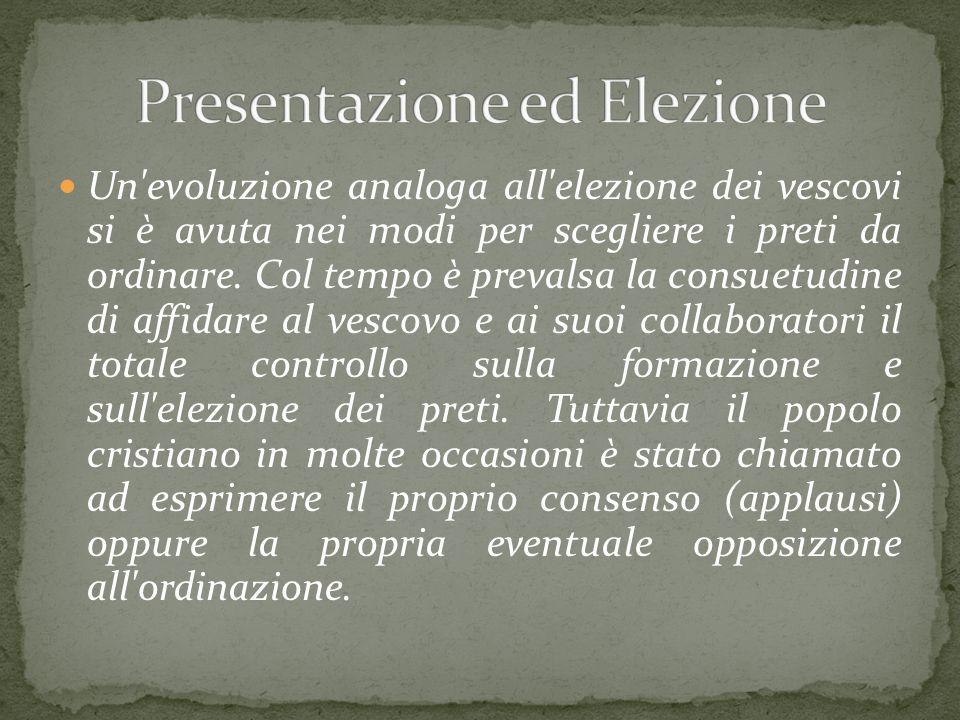 Presentazione ed Elezione