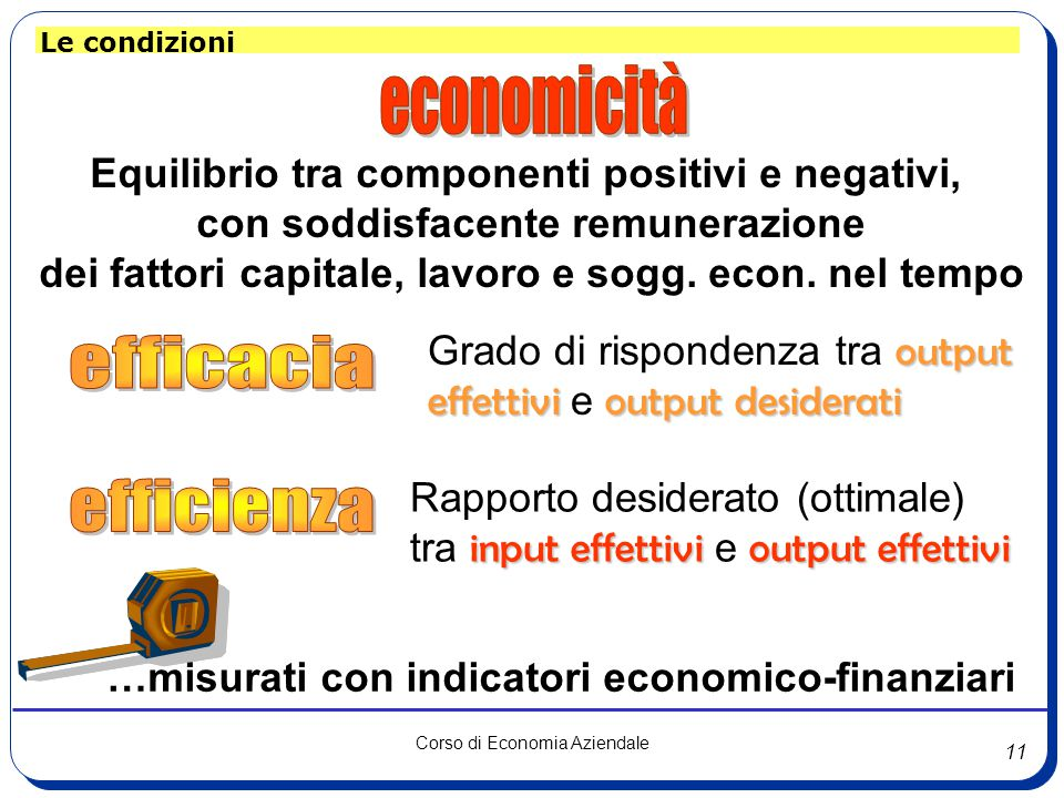 economicità efficacia efficienza