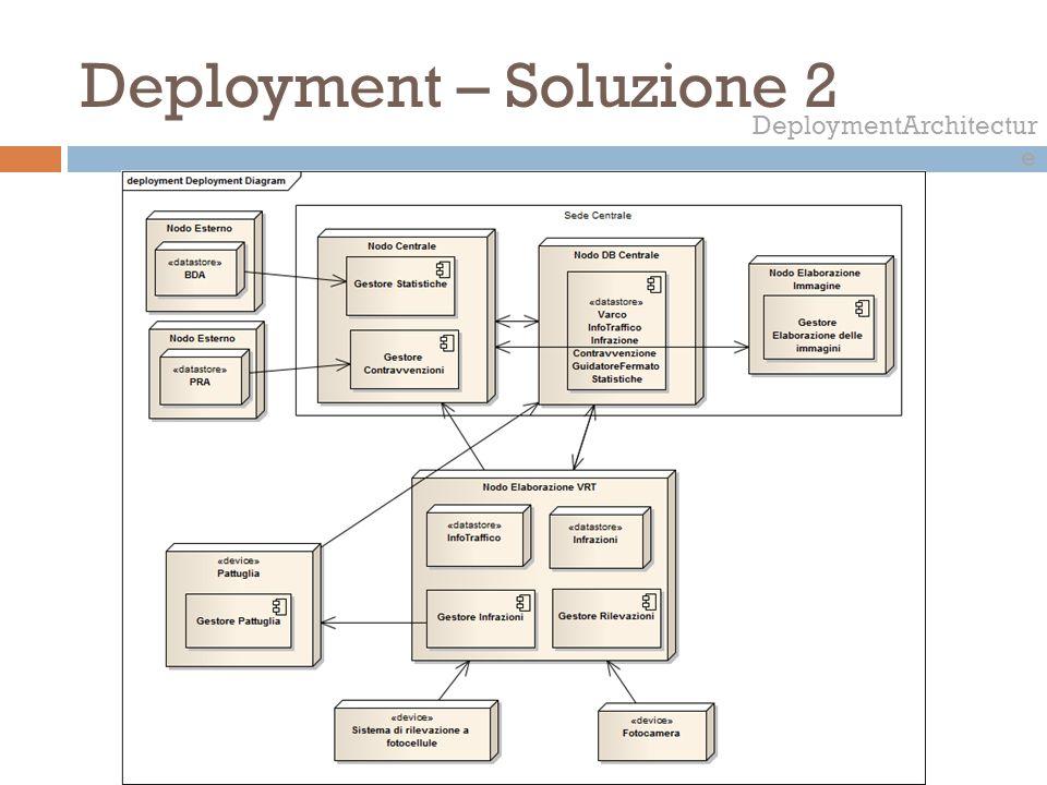 Deployment – Soluzione 2
