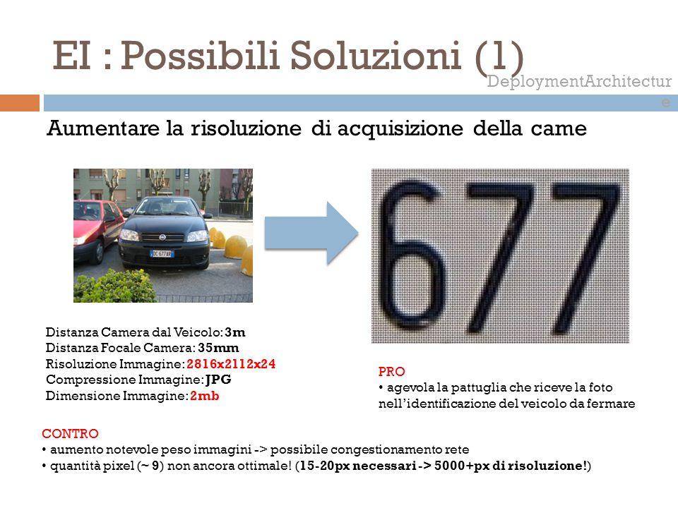 EI : Possibili Soluzioni (1)