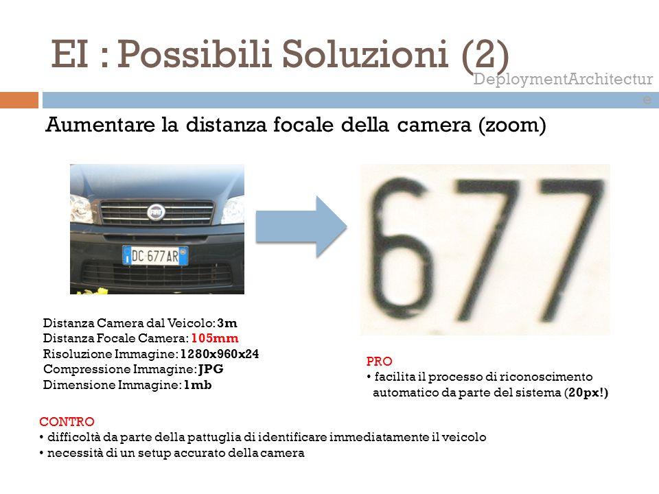 EI : Possibili Soluzioni (2)