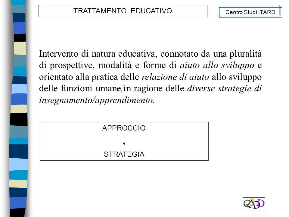 TRATTAMENTO EDUCATIVO
