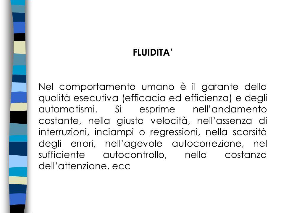 FLUIDITA'