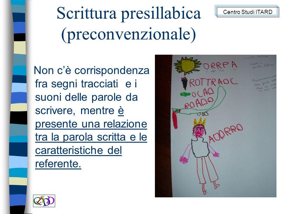 Scrittura presillabica (preconvenzionale)