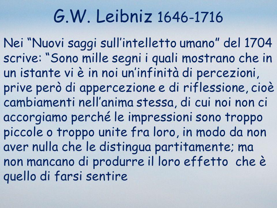 G.W. Leibniz 1646-1716