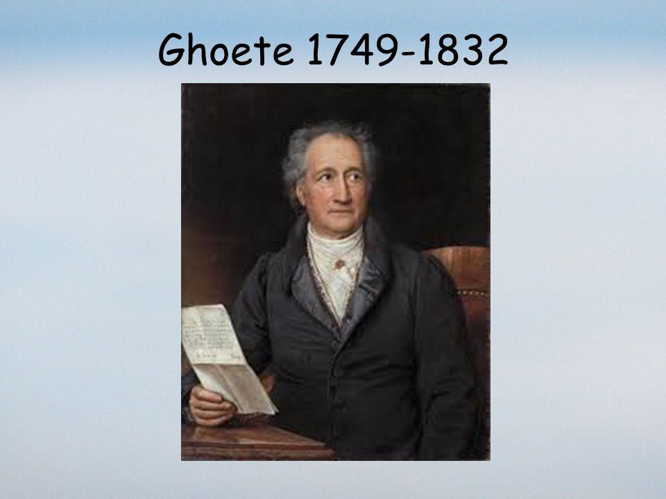 Ghoete 1749-1832 faust