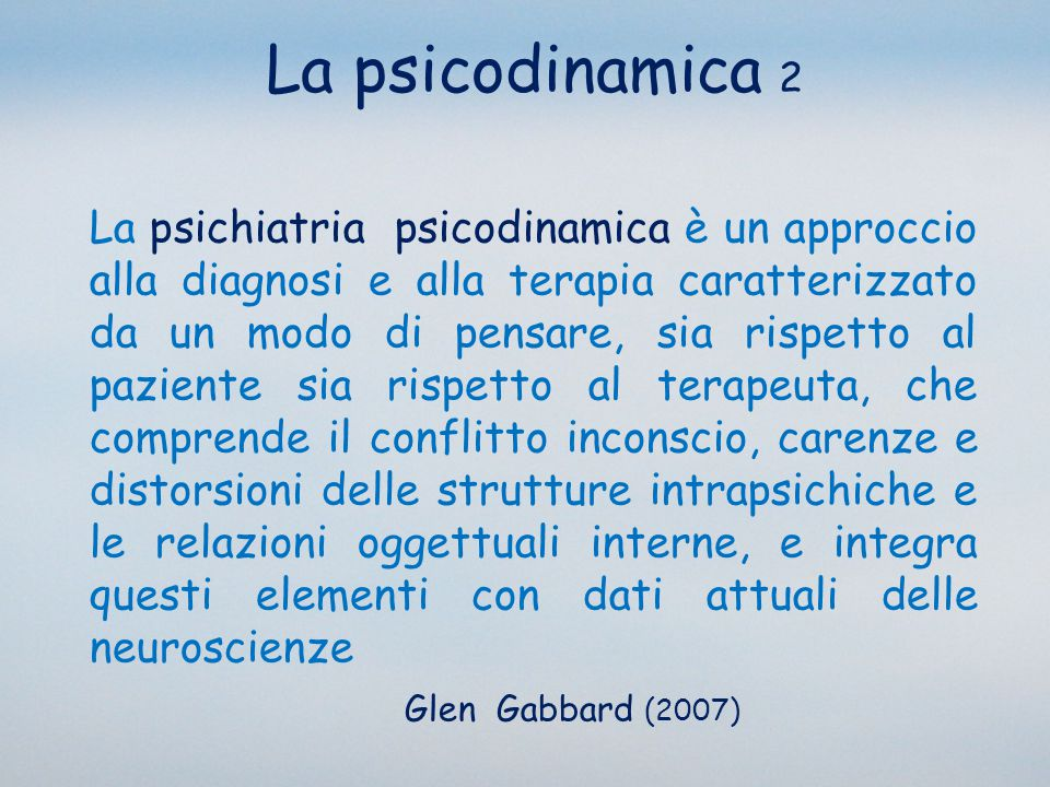 La psicodinamica 2