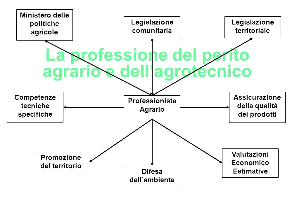 La professione del perito agrario e dell'agrotecnico