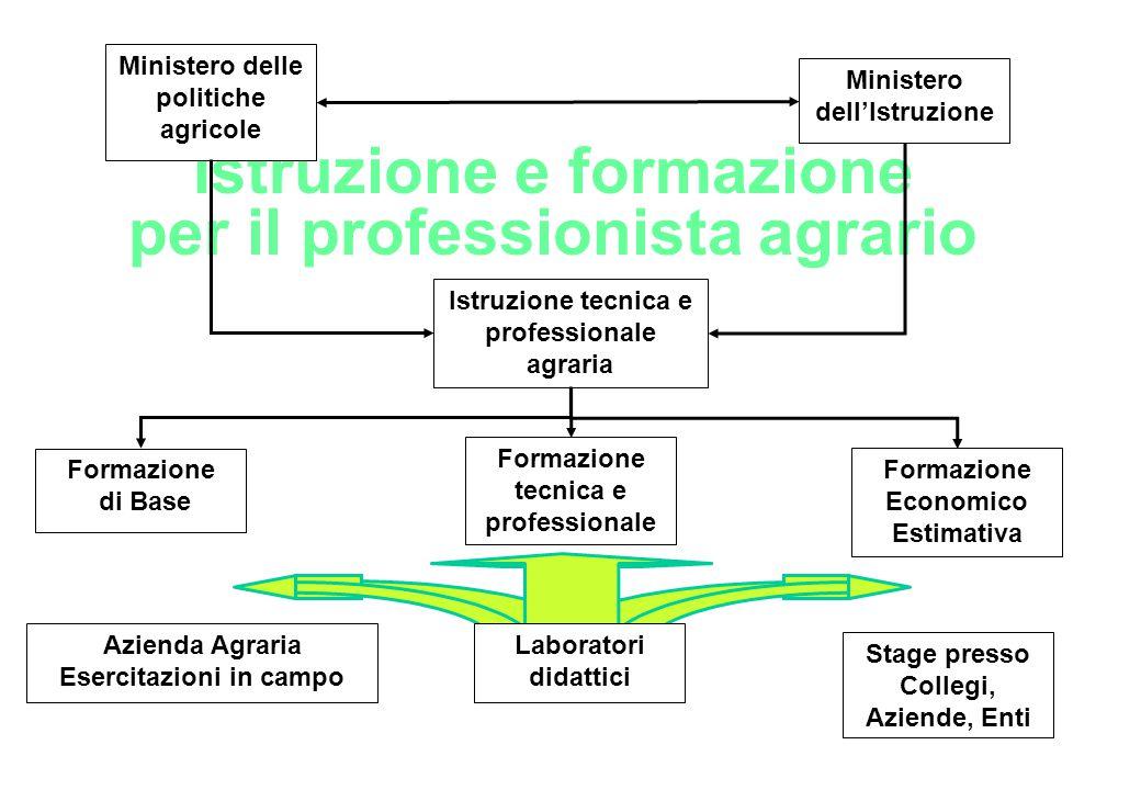 Istruzione e formazione per il professionista agrario