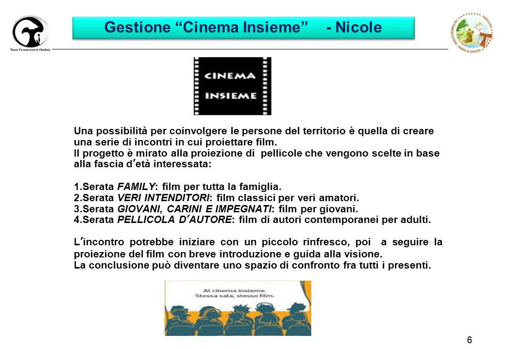 Gestione Cinema Insieme - Nicole