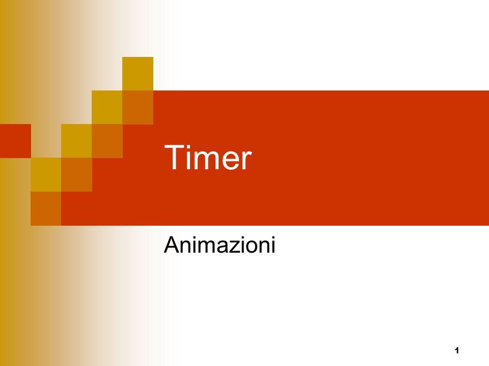 Timer Animazioni