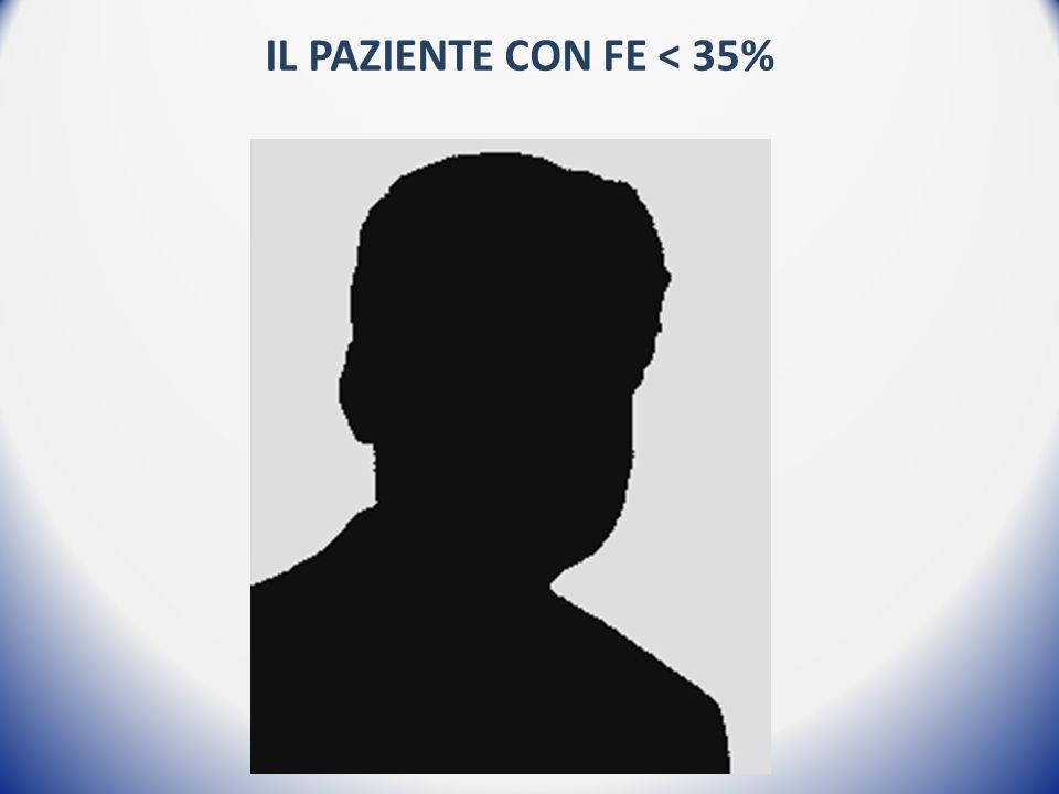 Il paziente con FE < 35%