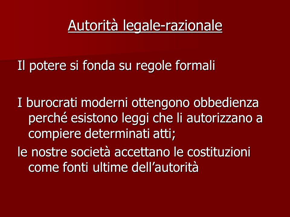 Autorità legale-razionale