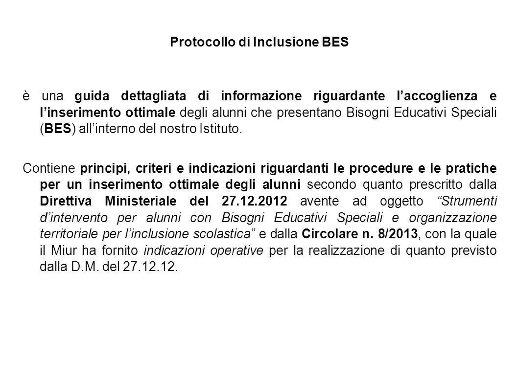 Protocollo di Inclusione BES