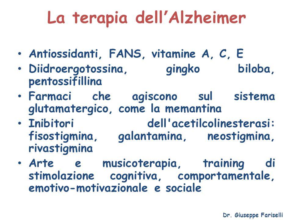 La terapia dell'Alzheimer
