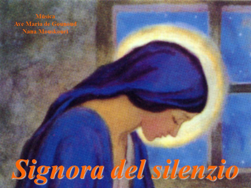 Música Ave Maria de Gounoud Nana Mouskouri Signora del silenzio