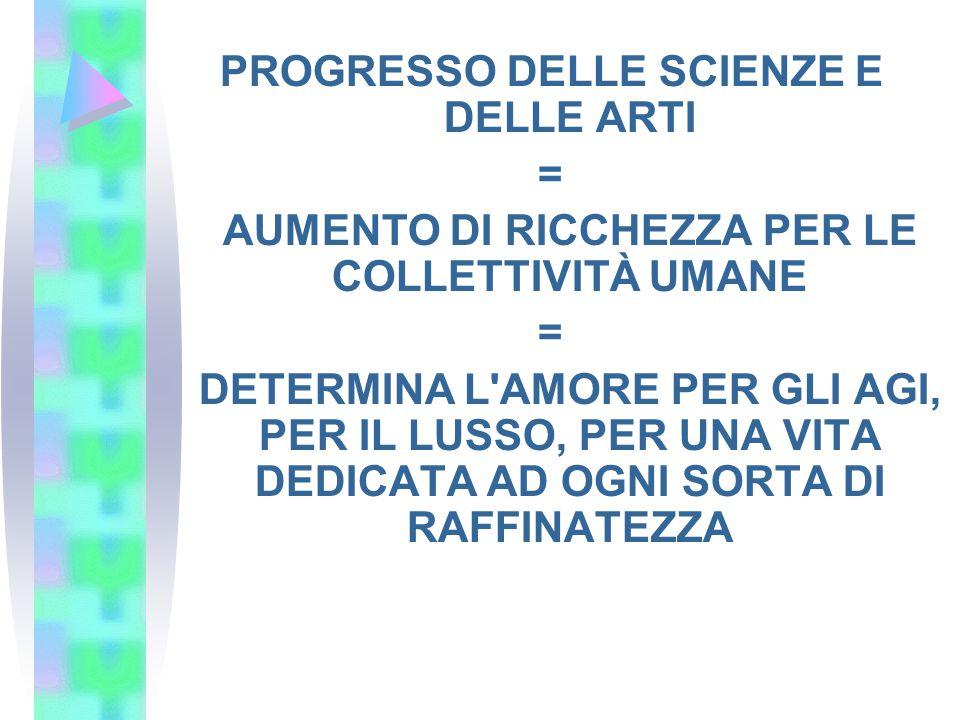 PROGRESSO DELLE SCIENZE E DELLE ARTI =