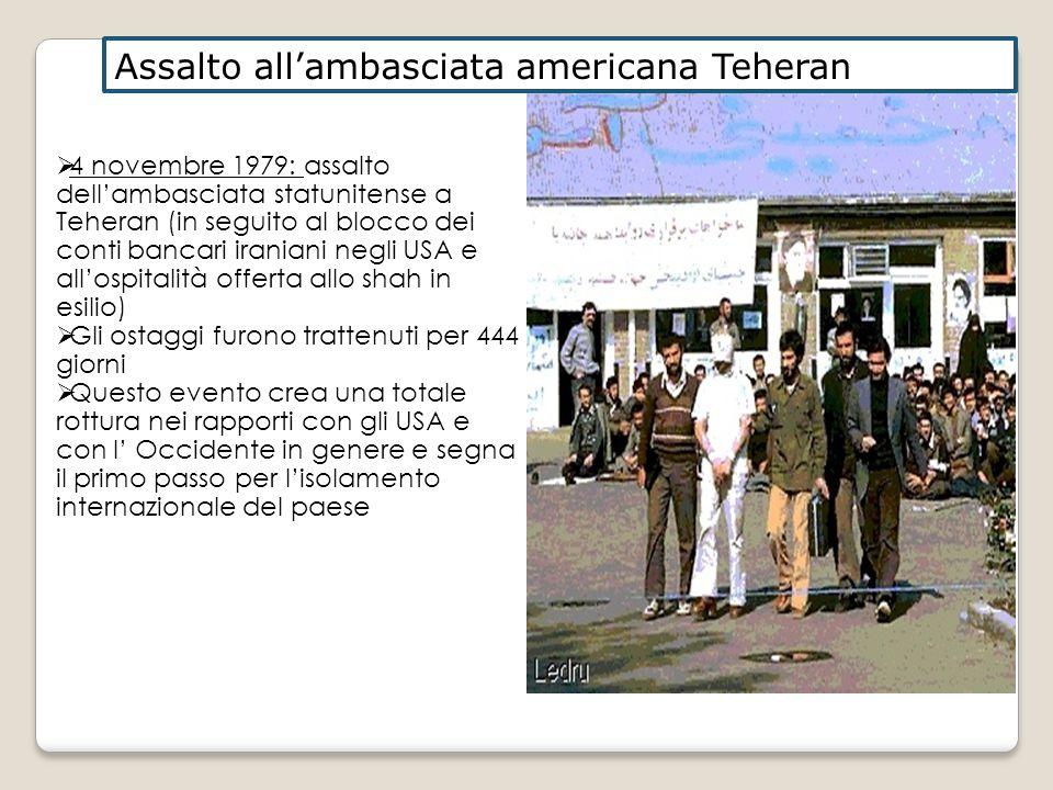 Assalto all'ambasciata americana Teheran