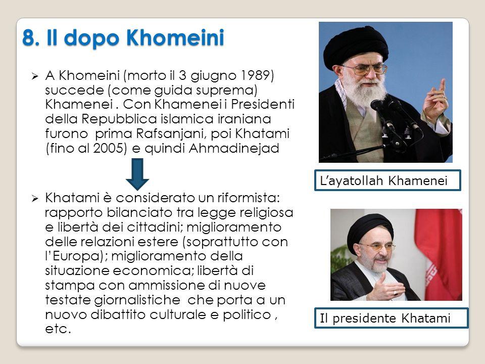 8. Il dopo Khomeini