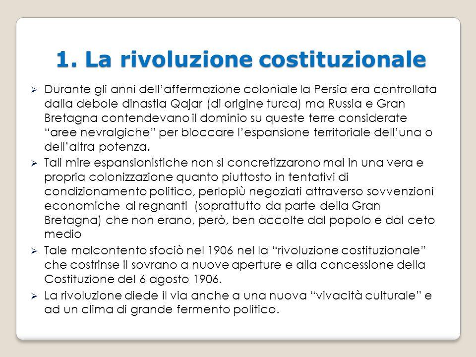 1. La rivoluzione costituzionale