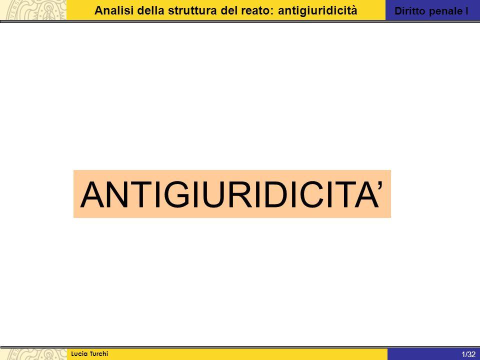ANTIGIURIDICITA' 1/32