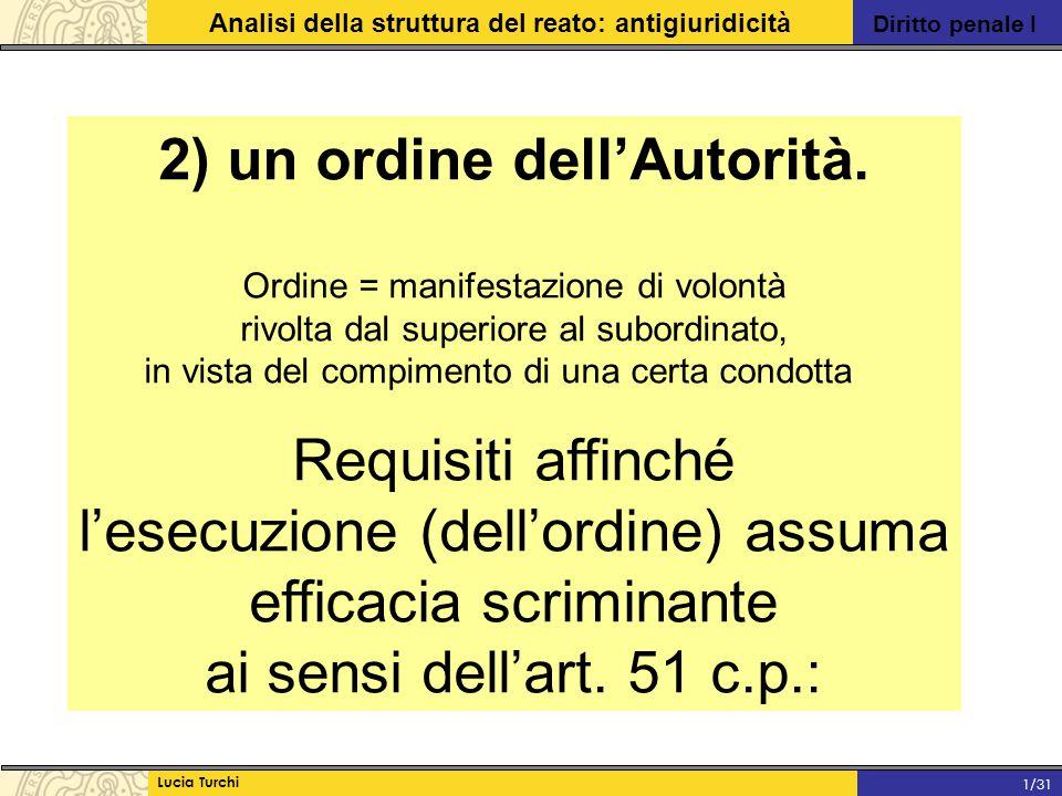 2) un ordine dell'Autorità.