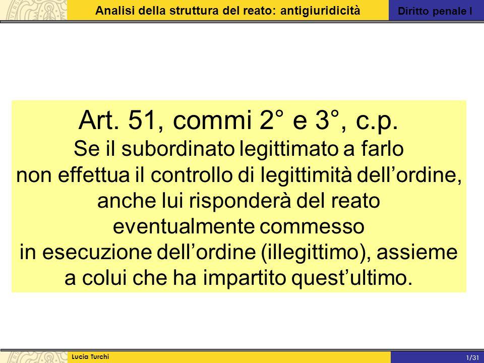 Art. 51, commi 2° e 3°, c.p. Se il subordinato legittimato a farlo