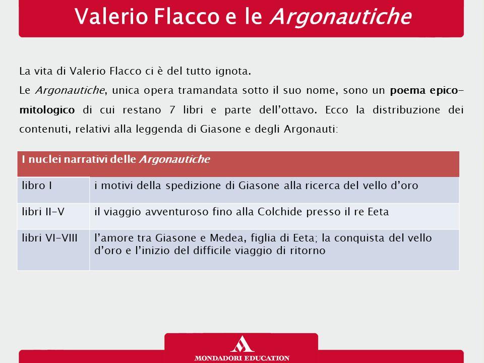 Valerio Flacco e le Argonautiche