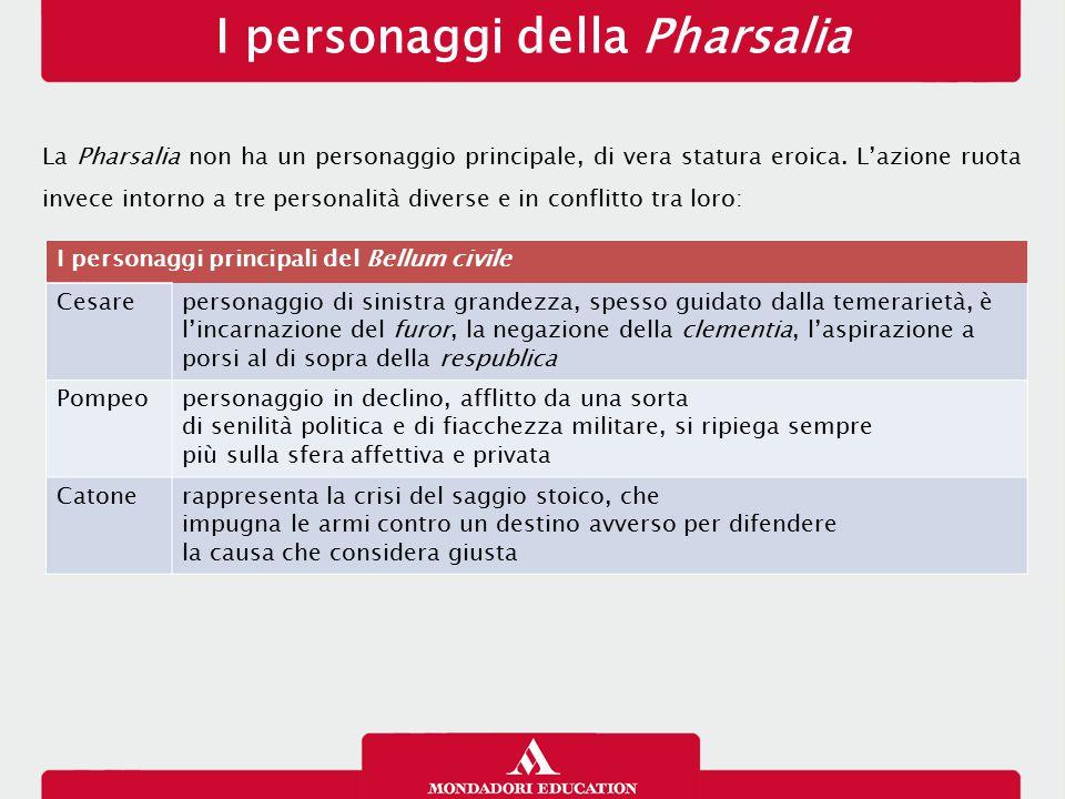 I personaggi della Pharsalia