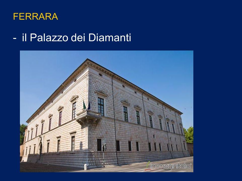 il Palazzo dei Diamanti