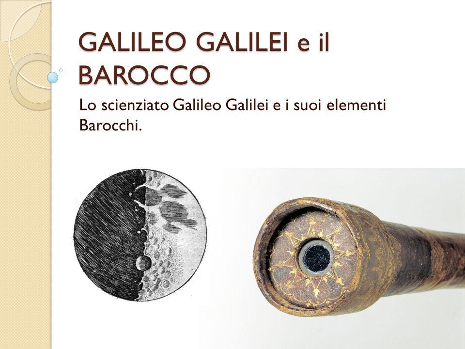 GALILEO GALILEI e il BAROCCO