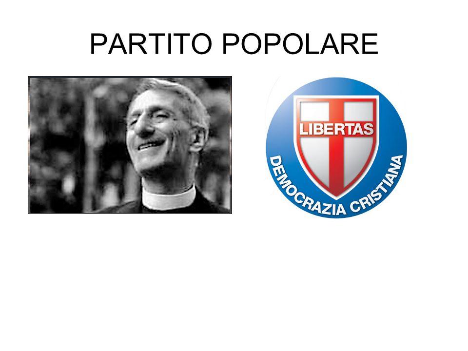 PARTITO POPOLARE
