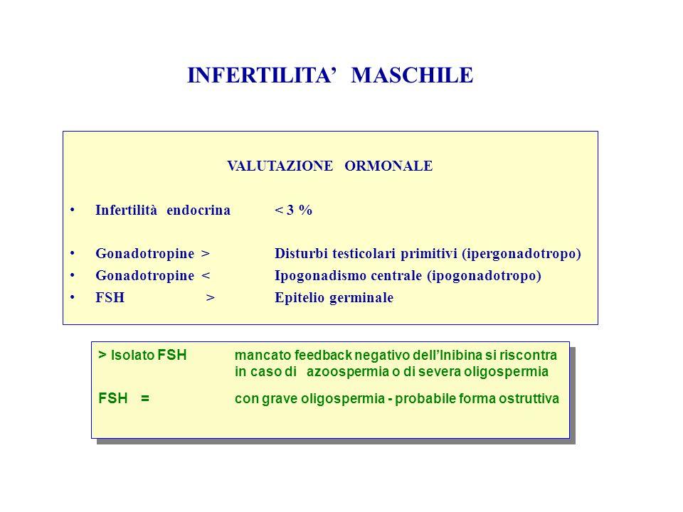 INFERTILITA' MASCHILE