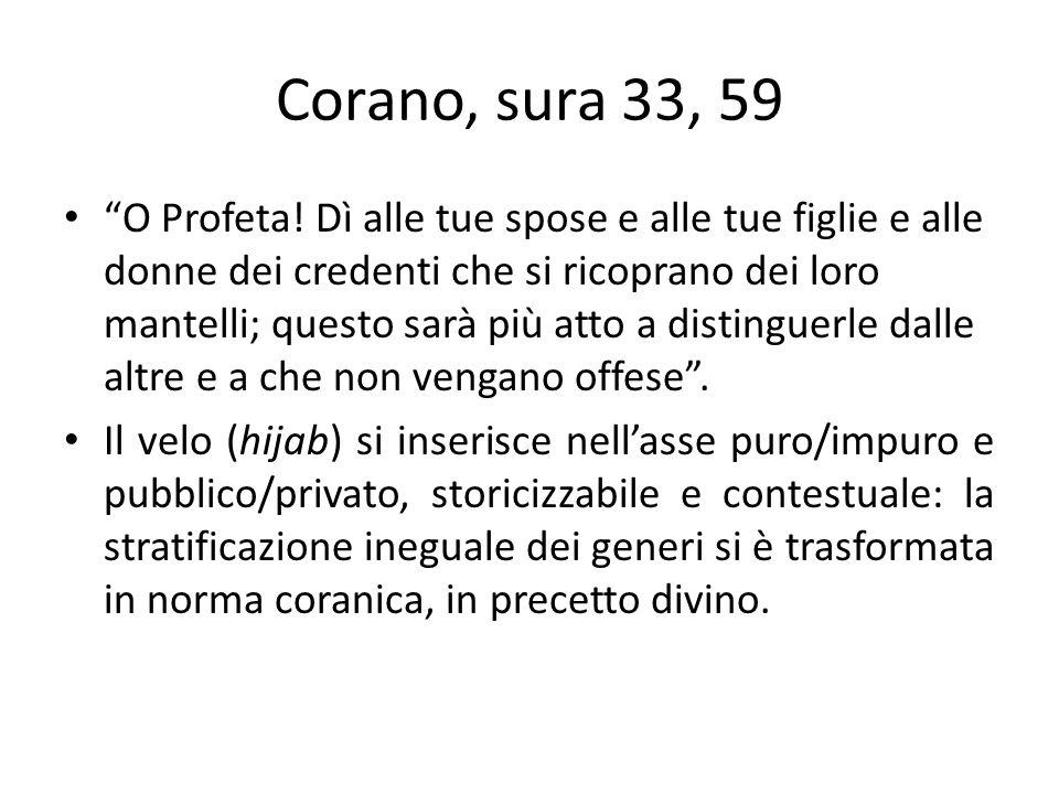 Corano, sura 33, 59