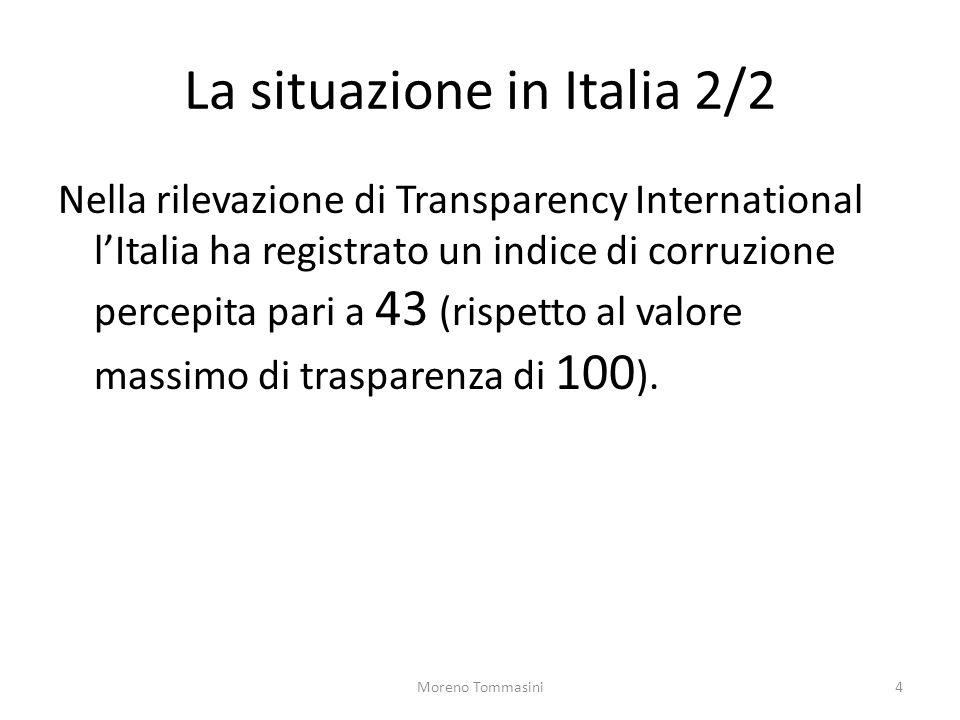 La situazione in Italia 2/2