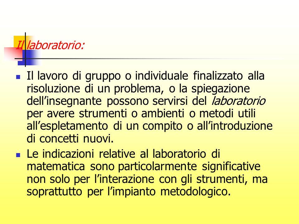 Il laboratorio: